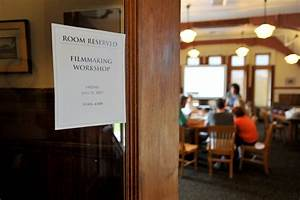 GalleryMIFF filmmaking workshop in Waterville library