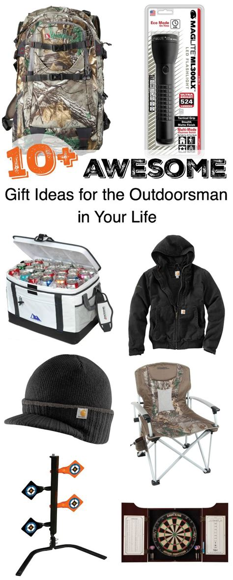 10 awesome gift ideas for the outdoorsman in your life
