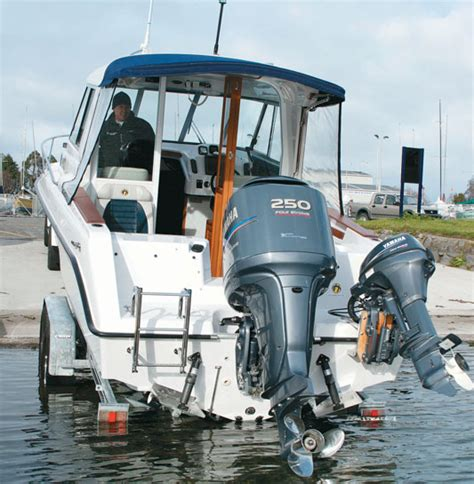 Fitting Boat Trim Tabs by How To Install Trim Tabs On A Power Boat Trade Boats