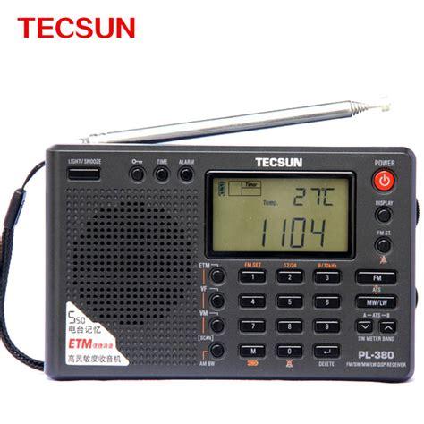 digital radio receiver test buy original tecsun icr 110 fm am portable lcd digital home radio speaker mic ats receiver 3 5mm