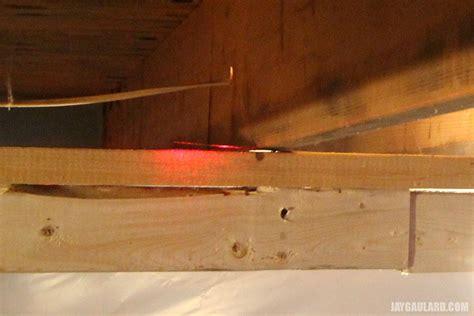 sagging floor joist fixing a sagging floor