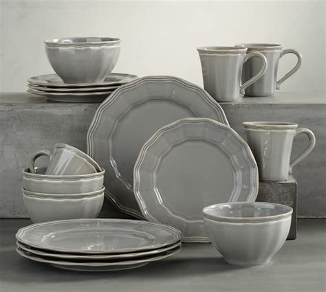 pottery barn dinnerware 16 dinnerware set pottery barn