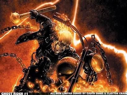 Rider Ghost Comics Marvel Blaze Johnny Wallpapers