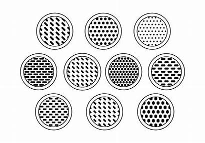 Speaker Grill Vector Vectors Box Clipart 3d