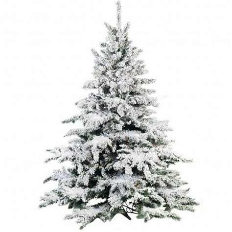 snow covered artificial christmas trees flocked christmas tree best images collections hd for 8333