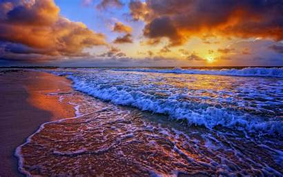 Sunset Evening Sky Sand Wallpapers Previous