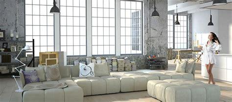 industrial style wohnen wohnen in weiss industrial style