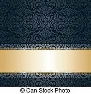 Schwarz Gold Tapete : k niglich tapete schwarz ~ Yasmunasinghe.com Haus und Dekorationen