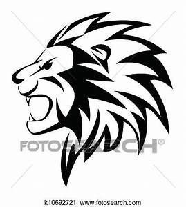 Clipart of lion roar k10692721 - Search Clip Art ...