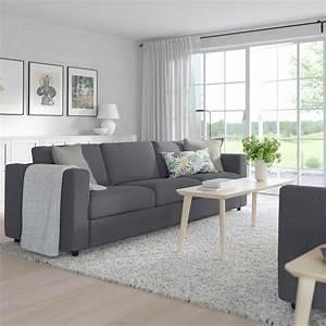 Ikea Vimle Erfahrung : vimle 3er sofa gunnared mittelgrau ikea ~ Watch28wear.com Haus und Dekorationen