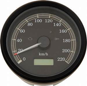 Drag Specialties Electronic Kmh Speedo Speedometer 99