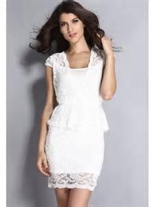 robe mariã e dentelle robes courte pas cher et fashion m 38 robes courte pas cher et fashion blanc