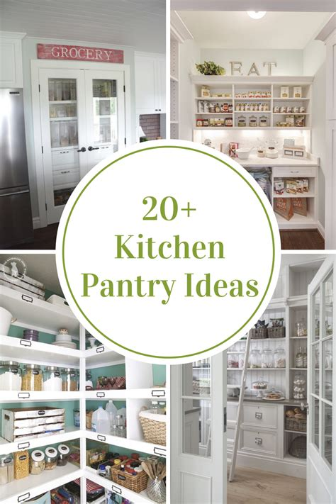 ideas for kitchen pantry 20 kitchen pantry ideas to organize your pantry