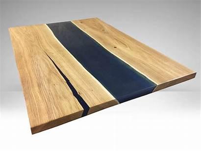Resin Solid Wood Oak Countertops Ultramarine Polymer