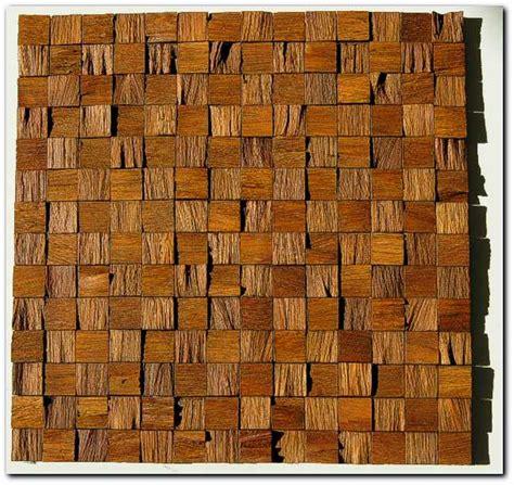 Fliesen An Holz by Holz Mosaik Fliesen Holzmosaik