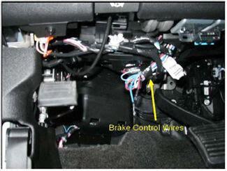 aftermarket brake control wiring   current gm full