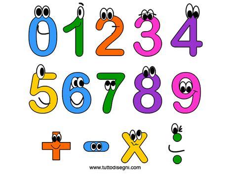 numeri clipart numeri animati da stare tuttodisegni