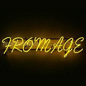 neon sign fromage 42