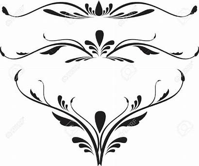 Scroll Vector Designs Cliparts Royalty Decorative Clipart