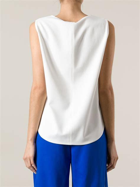klein blouses calvin klein white silk blouse lace henley blouse
