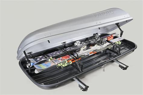 porta sci auto accessori per baule portatutto