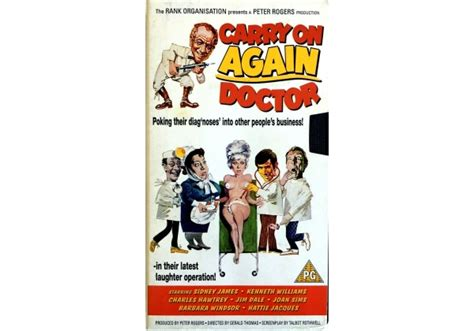 Carry On Again Doctor on Cinema Club (United Kingdom VHS ...