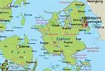 Danmark Karta Själland | Karta