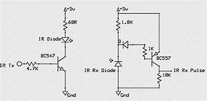 how to make a contact less digital tachometer using ir With sensitive ir switch circuit