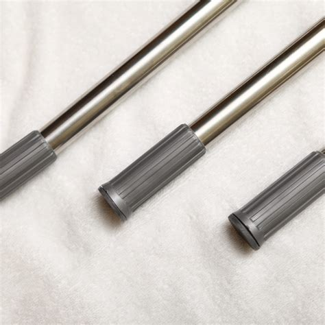 retractable stainless steel bathroom shower curtain rod