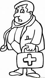 Doctor Coloring Dr Colouring Printable Clipart Coloringpages101 Sheets Library Getcolorings Immediately sketch template