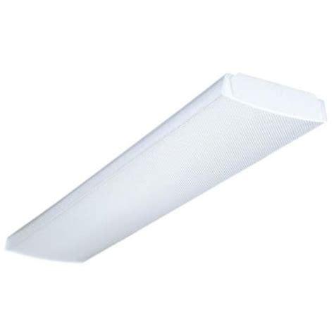 lithonia lighting 4 ft 4 light fluorescent wraparound