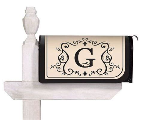 magnetic mailbox cover   monogram  evergreen enterprises   weather  fade