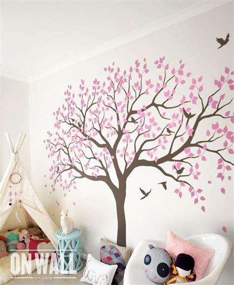 Babyzimmer Wandgestaltung Baum by Gro 223 Er Baum Wall Decals B 228 Ume Decal Baumschule