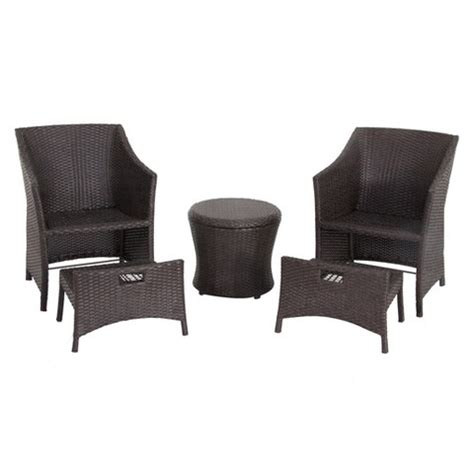 Threshold Patio Furniture Manufacturer by Threshold Patio Furniture 5 Conversation Set Target