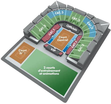 plan salle arena montpellier open de tennis de montpellier open sud de plan de l arena