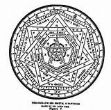 Buzzfeed Occult Elixir sketch template