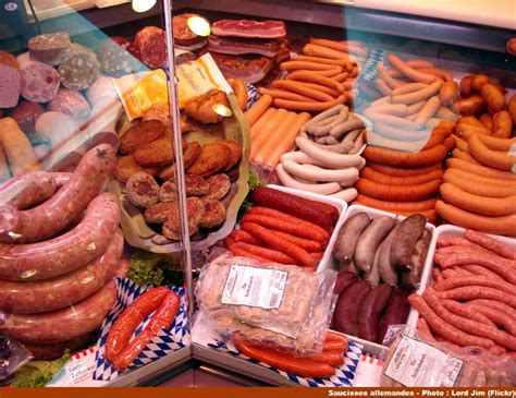 cuisine allemand la saucisse wurst institution de la cuisine allemande