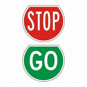 Stop And Go : stop go paddles signs highway 1 ~ Medecine-chirurgie-esthetiques.com Avis de Voitures