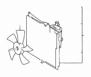 Toyota Echo Engine Cooling Fan Blade  Frp