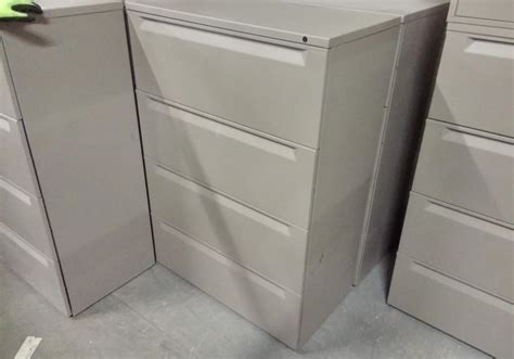 Meridian File Cabinets by Herman Miller Meridian 4 Drawer Lateral Filing Cabinet