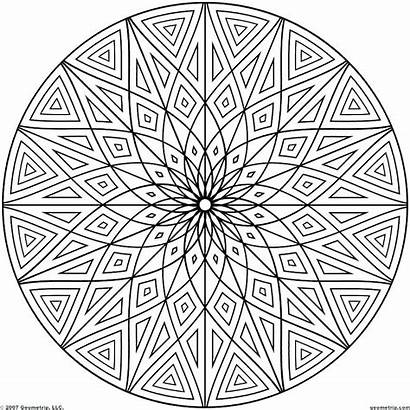 Coloring Pages Printable Tessellations Patterns Pattern Getcolorings