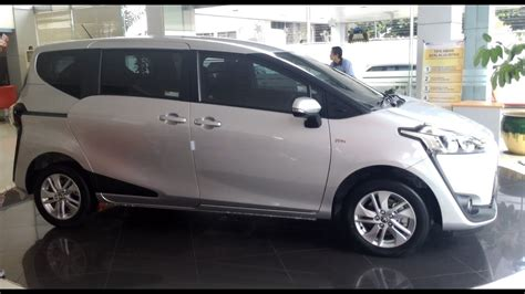Review Toyota Sienta by Review Toyota Sienta Type G Cvt Exterior And Interior