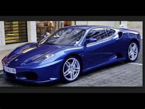 cars ferrari blue blue color ferrari cars youtube