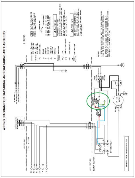 Hvac Trane Air Handler Gatacssaa Create Wire