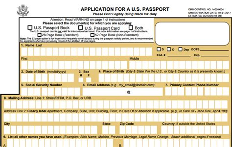 us post office application form definitive u s passport application guide for first