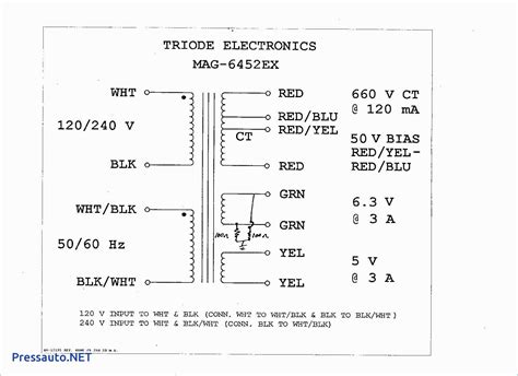 Transformer Wiring Diagram Free