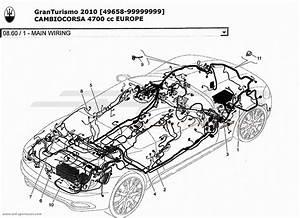 Maserati Granturismo 4 7l Boite F1 2010 Electrical Parts