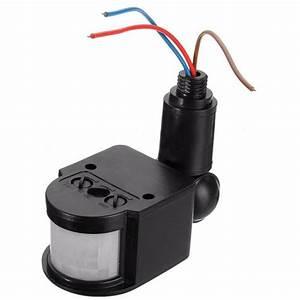 Outdoor 110 220v Infrared Pir Motion Sensor Detector Wall Light Switch Modern Smart Home