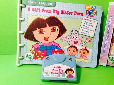 Leapfrog Dora The Explorer Book And Cartridge A Gift From