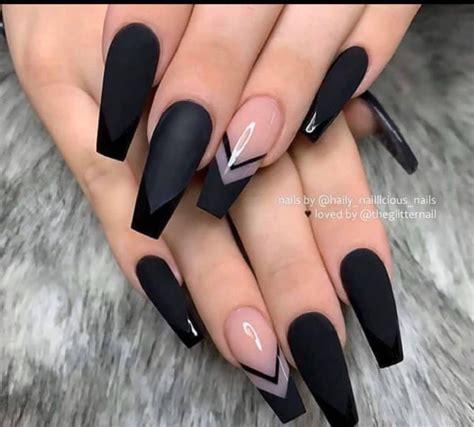 Sin embargo, también pueden ser la señal de una infección por hongos. Pin de Ana Yury Baltodano Araya en Uñas negras largas en ...